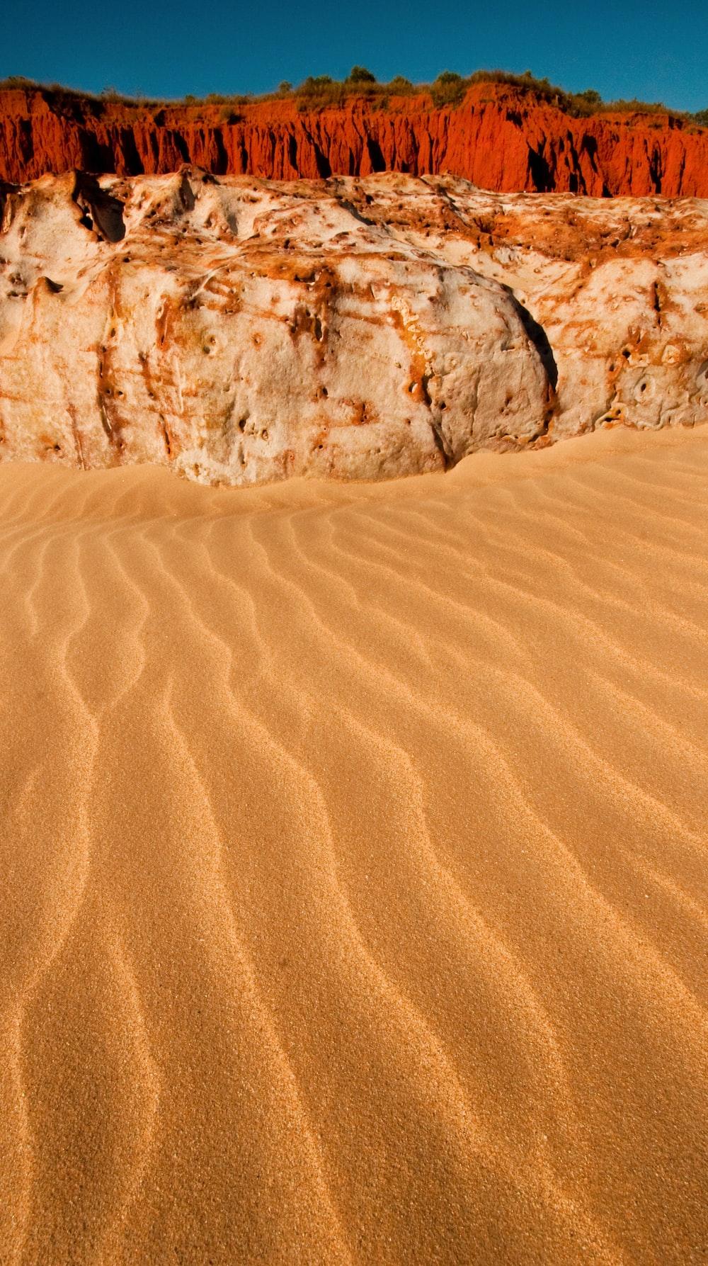 landscape photo of desert
