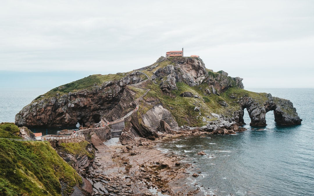 This church from the 10th (!) century is located beautifully on top of a hill in the sea near Bilbao.