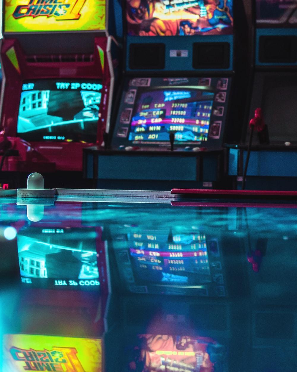arcade machine lot