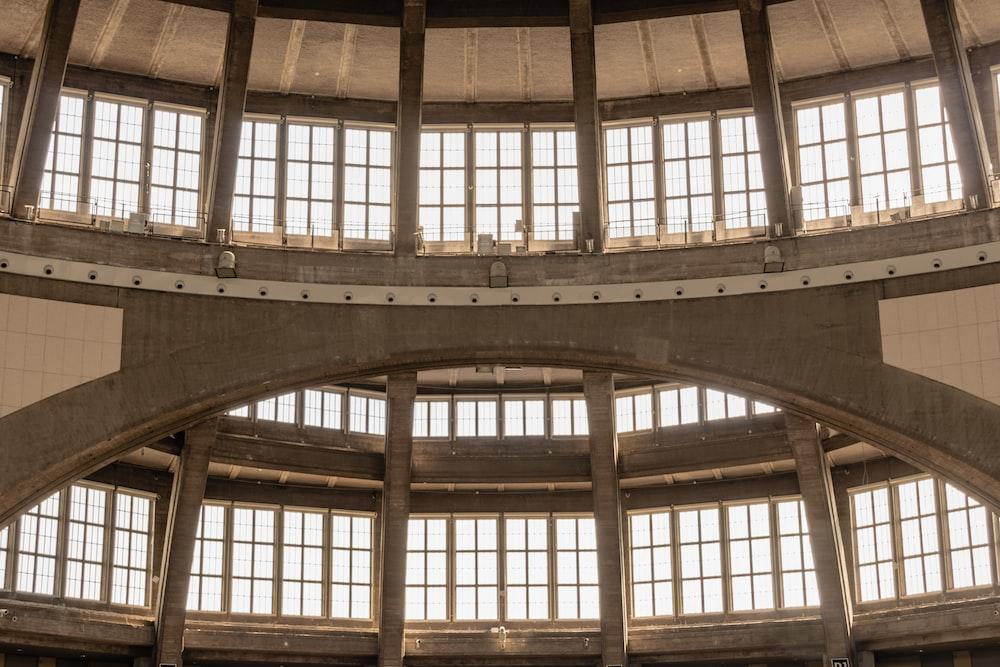gray building interior