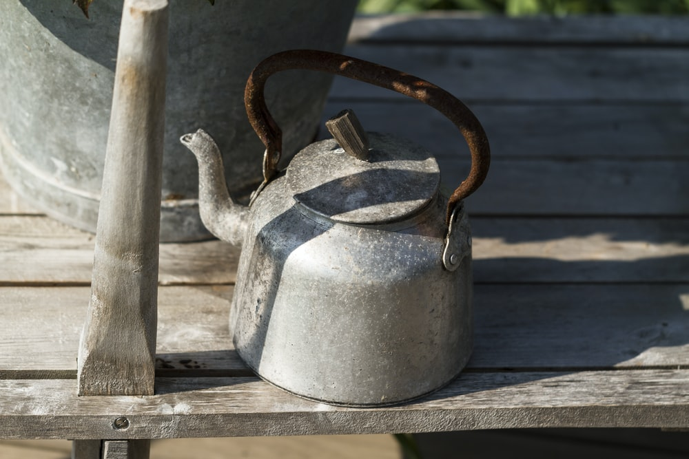 gray whistle kettle