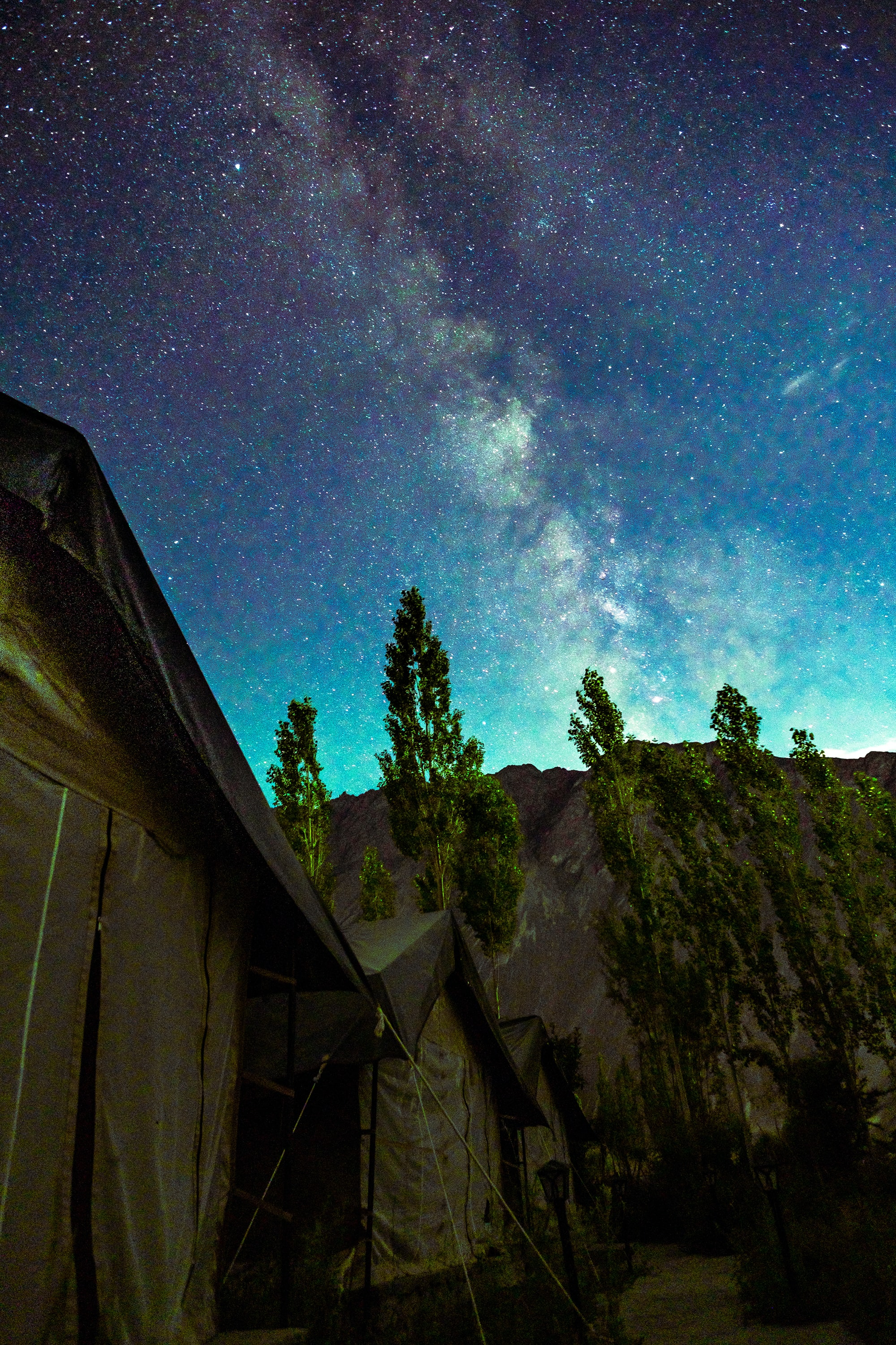 low angle photography of milkyway sky