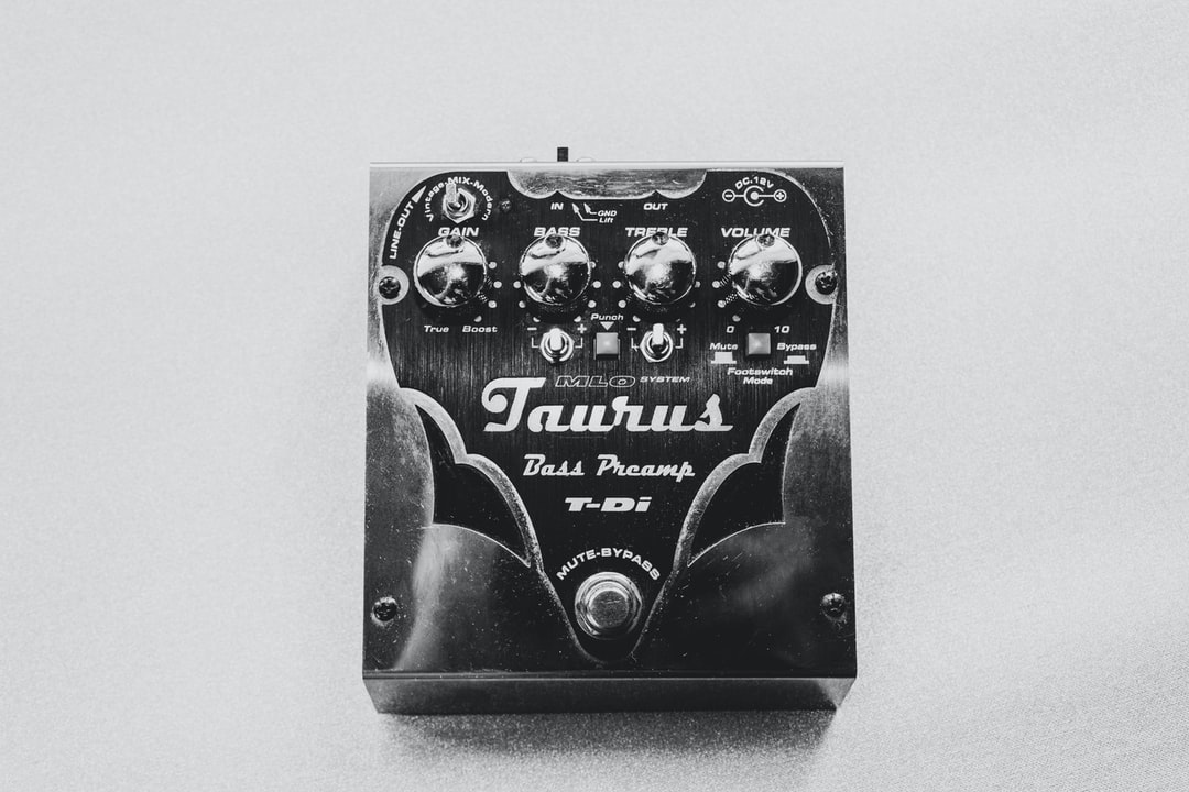 Taurus Bass Preamp