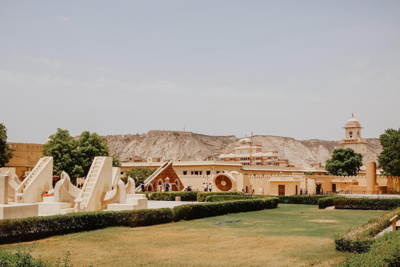 Jaipur Jantar Mantar instruments