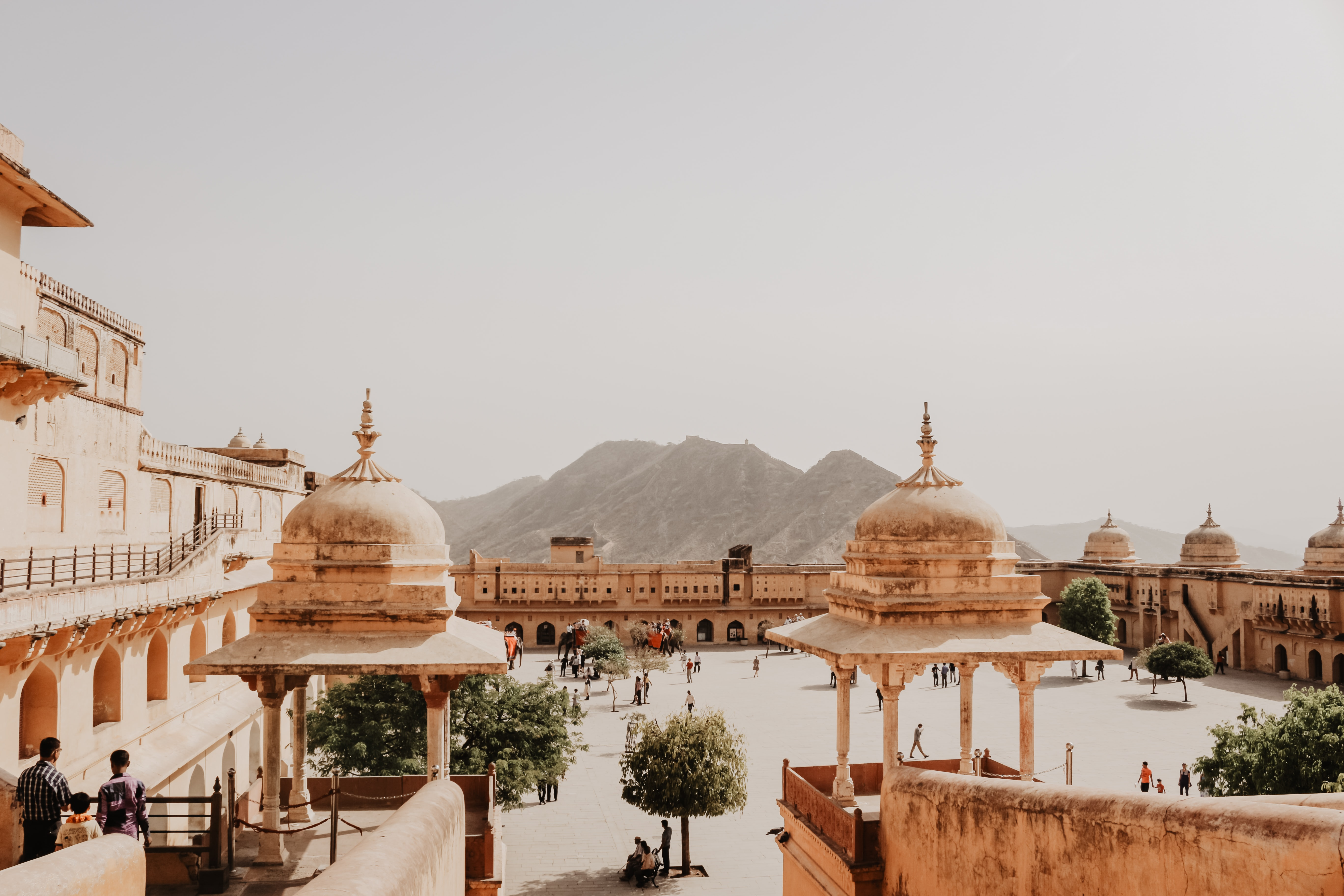 brown dome temples at daytime