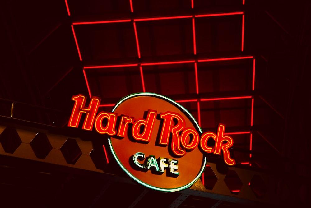 Hard Rock Cafe signage