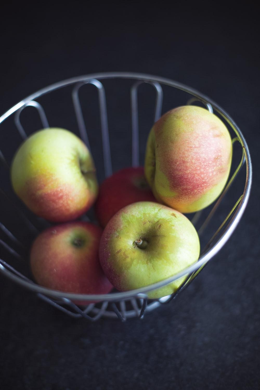 Apple Fruit Basket And Bowl Hd Photo By Markus Spiske