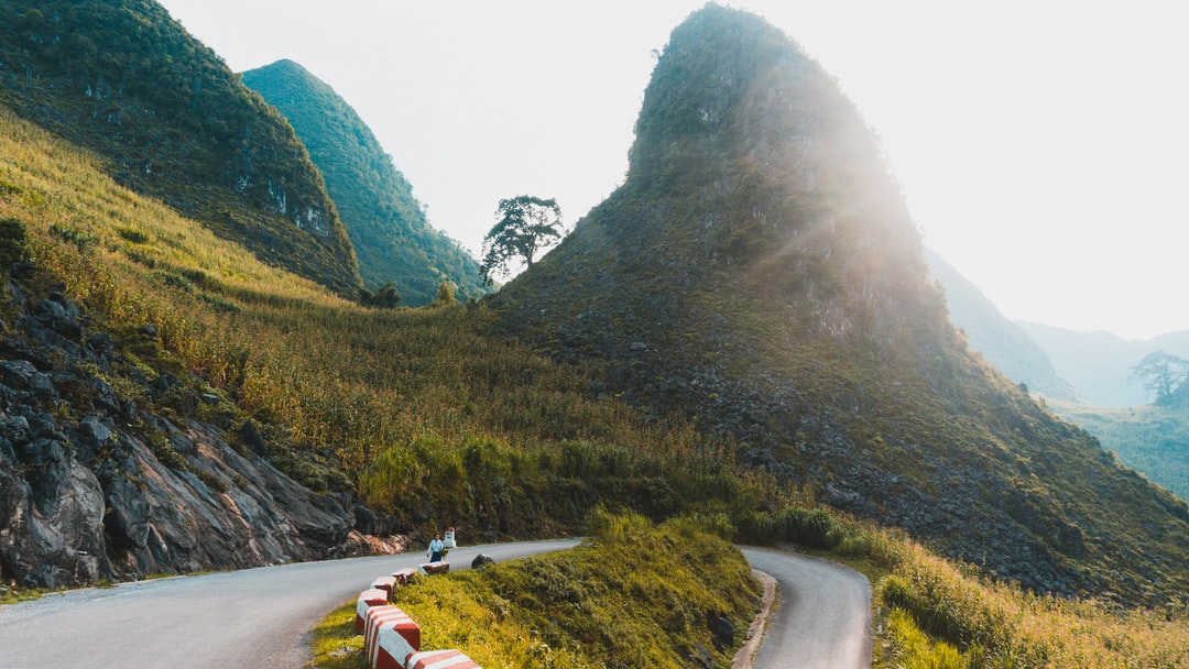 Ha Giang Loop Vietnam. This picture was taken during an awesome road trip on scooters in Ha Giang Vietnam!