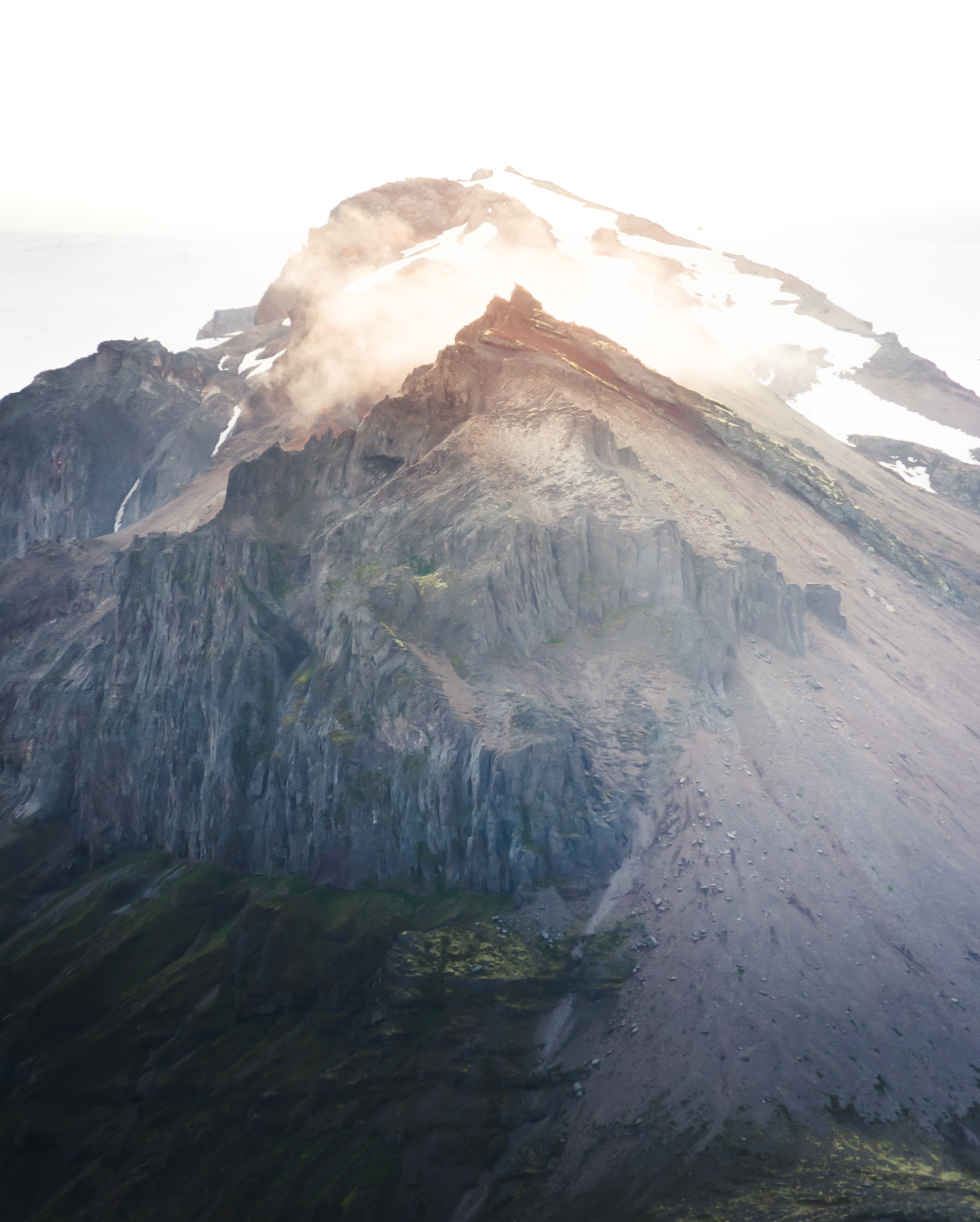 landscape photo of gray mountain