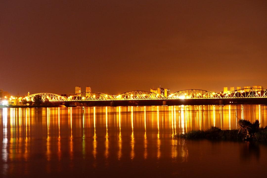 Most Wiślany na rzece Wiśle