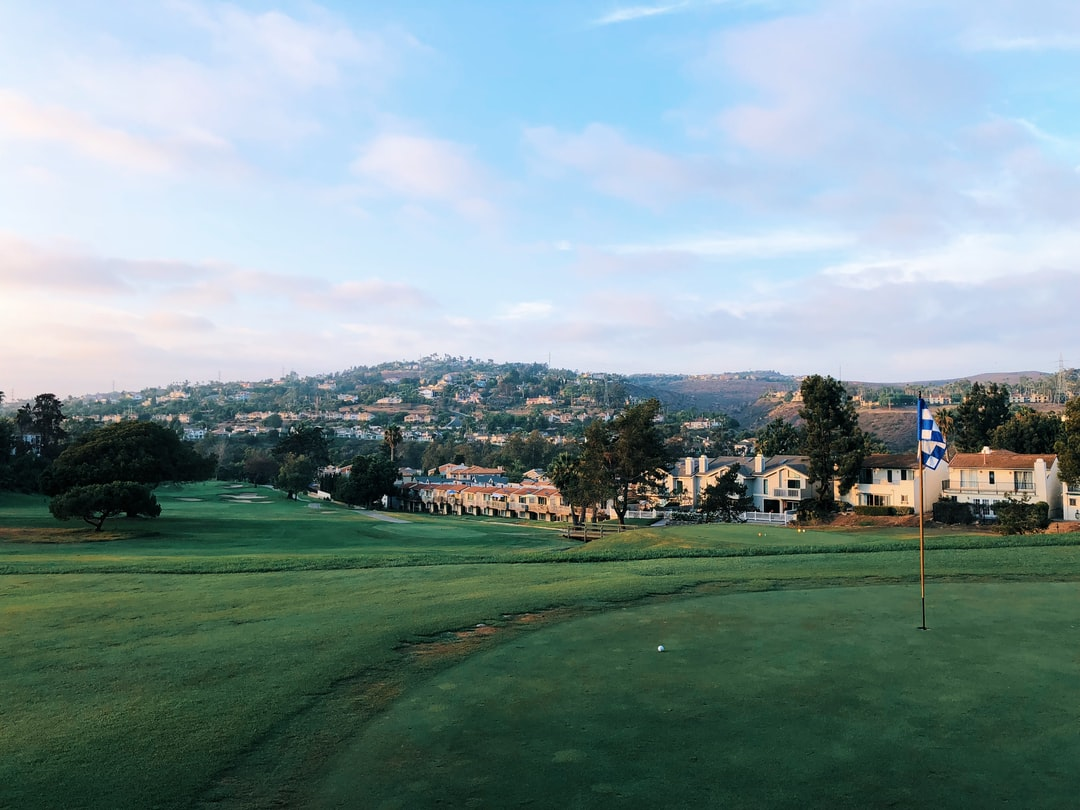 Played Omni's LaCosta Golf Resort in Carlsbad, CA. Fantastic course with truly neat views. This was my approach that gave me a birdie opportunity.