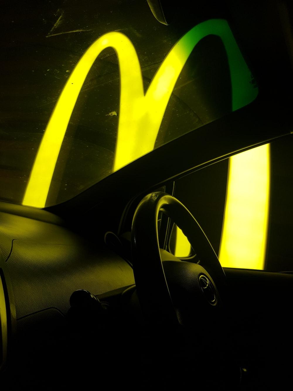 McDonalds neon sign