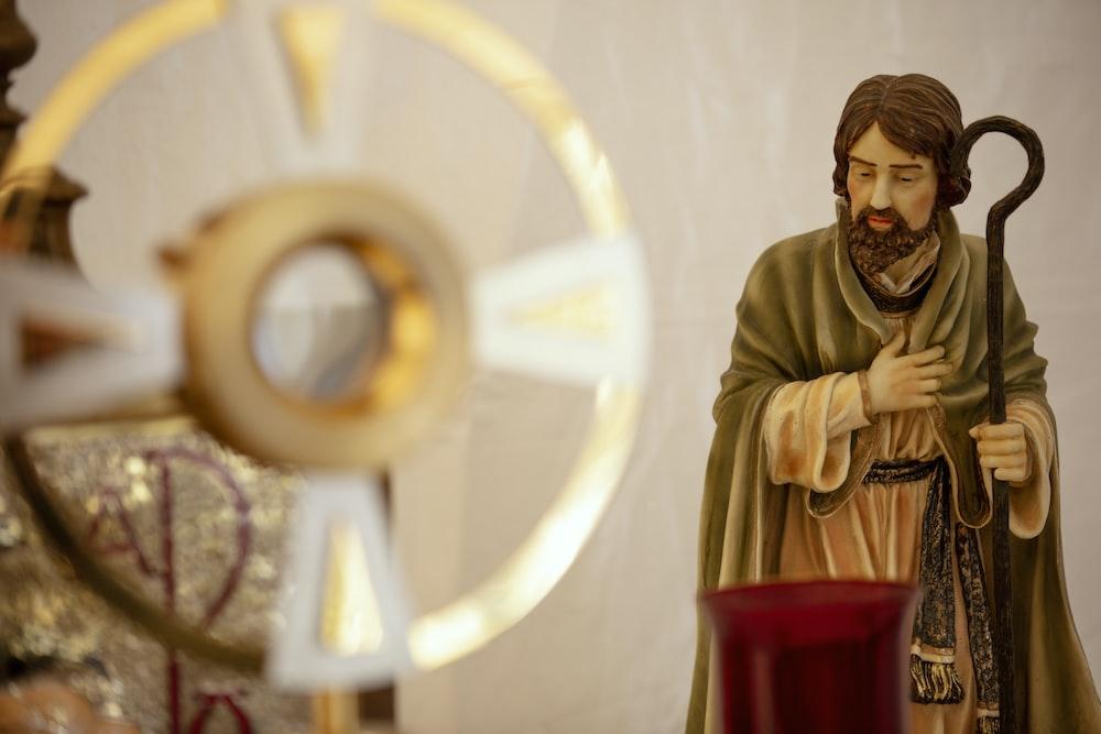 Joseph religious figurine
