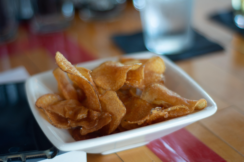 fried banana chips
