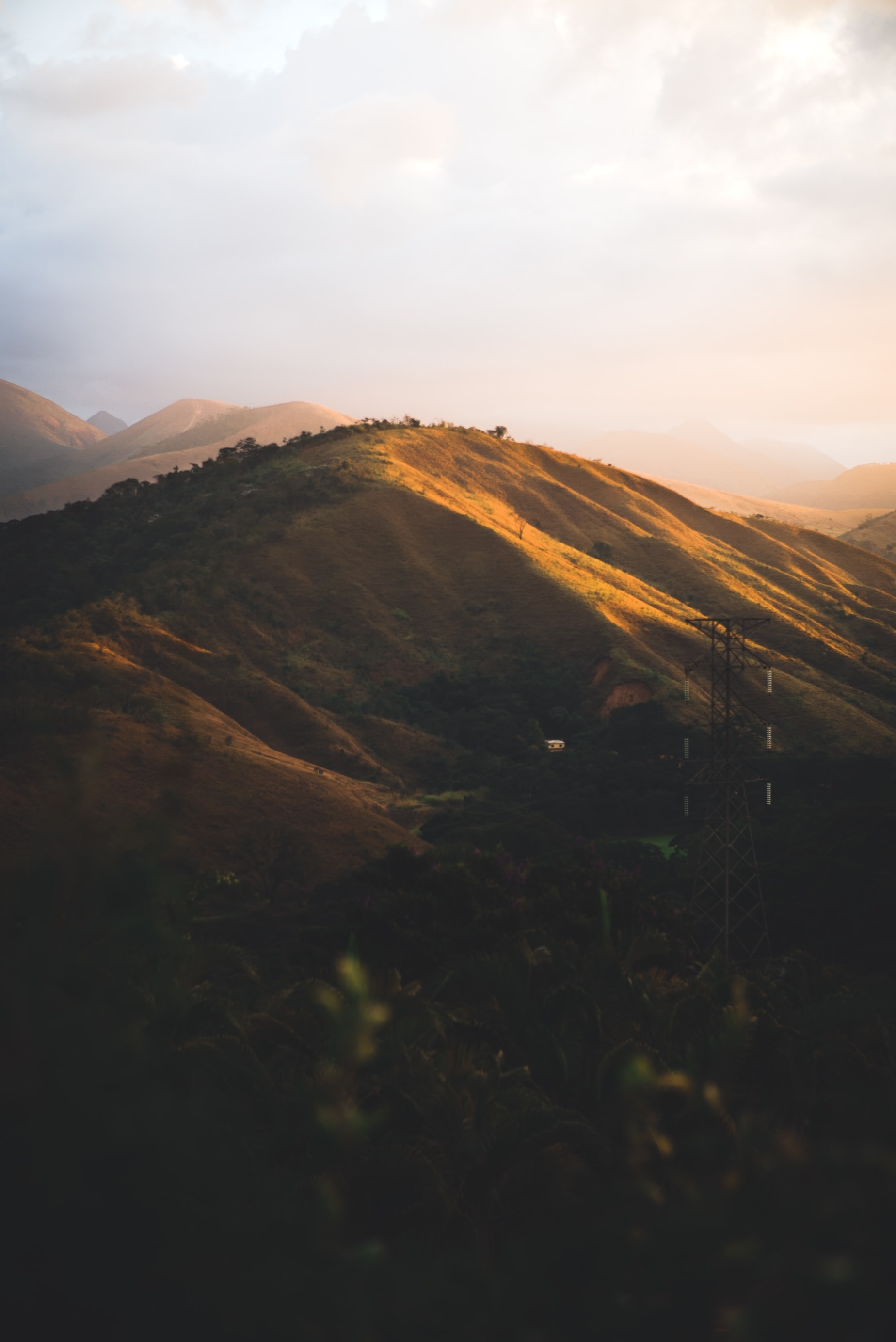 panoramic photo of mountain