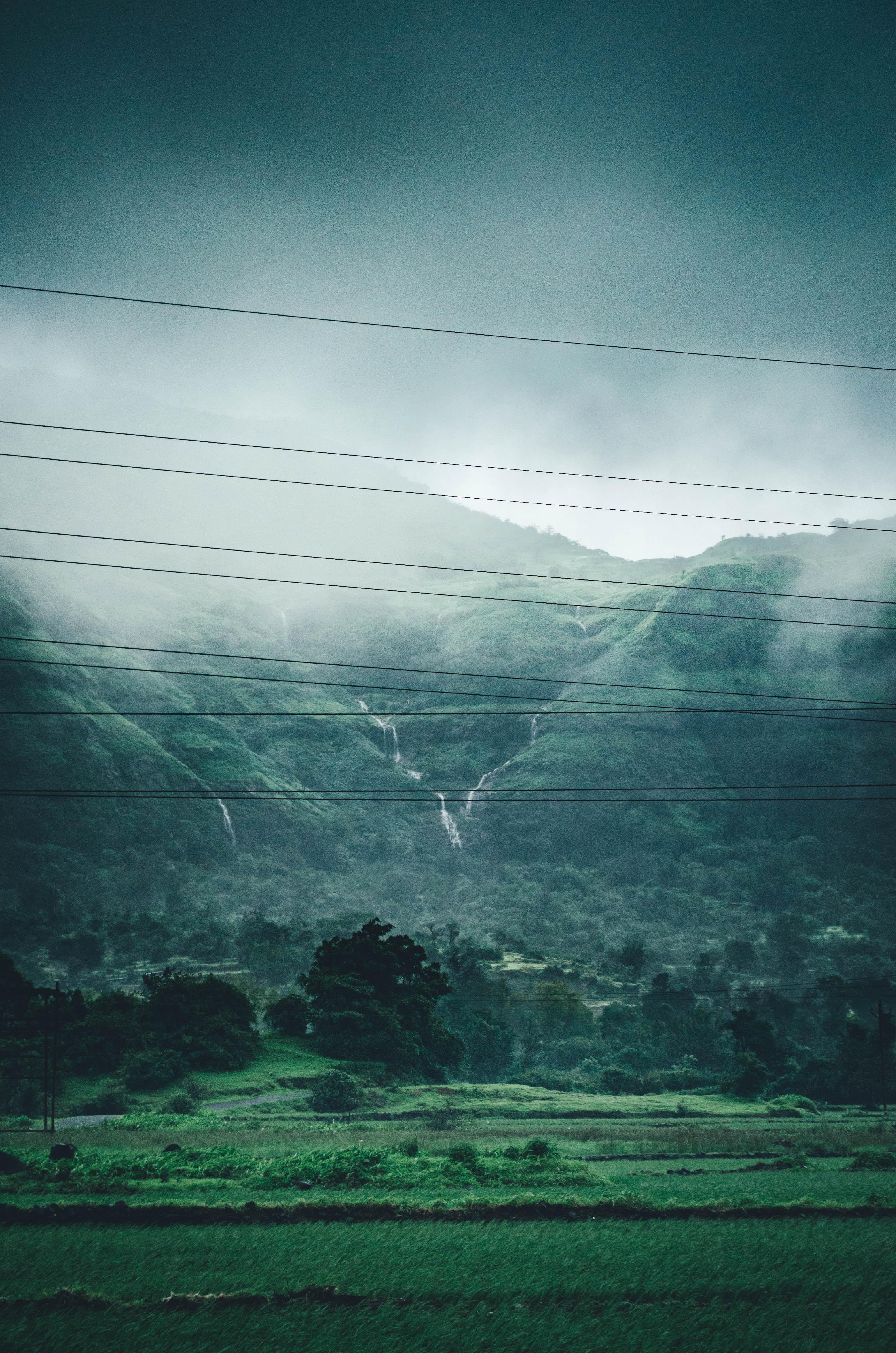 photo of green mountain