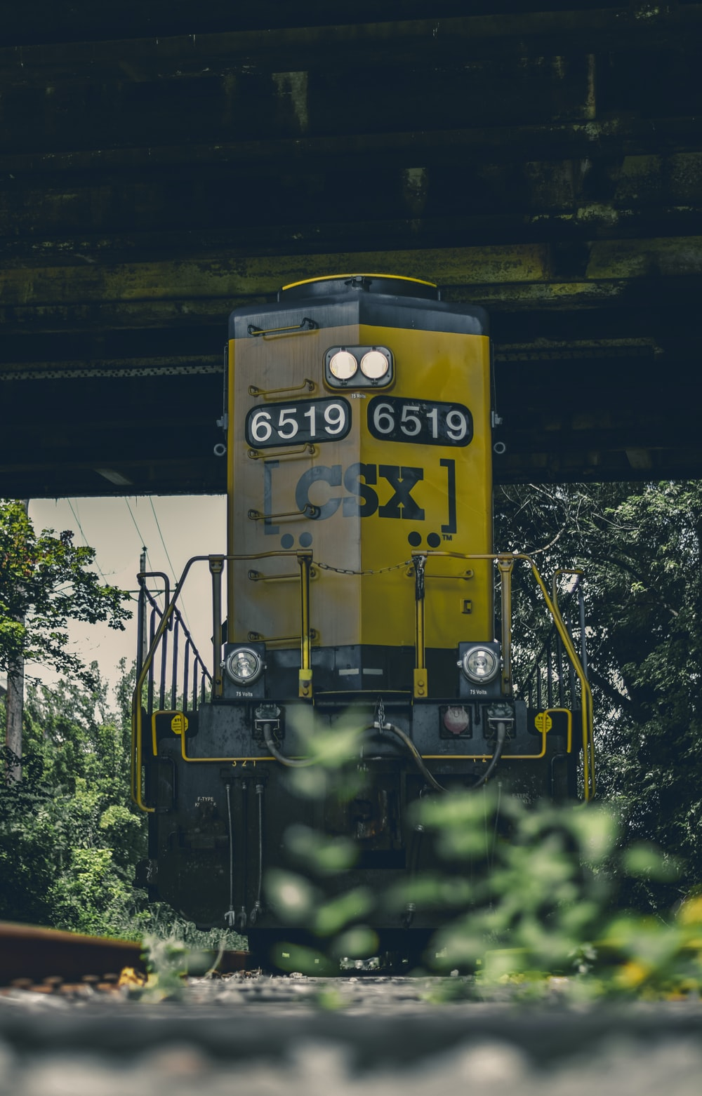 filtered photography of yellow and black locomotive train