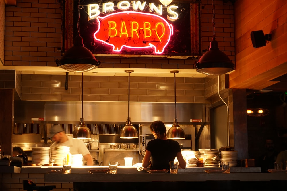 Brown's Bar-B-Q storefront