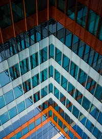 high angle photography of building