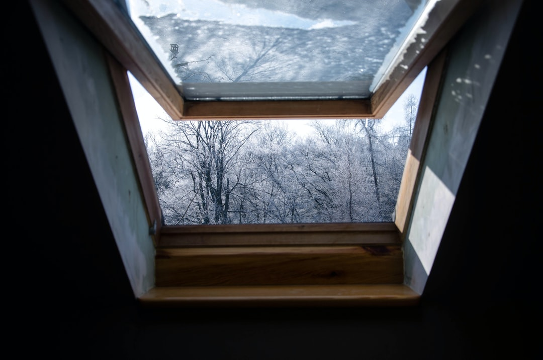 just open the window
