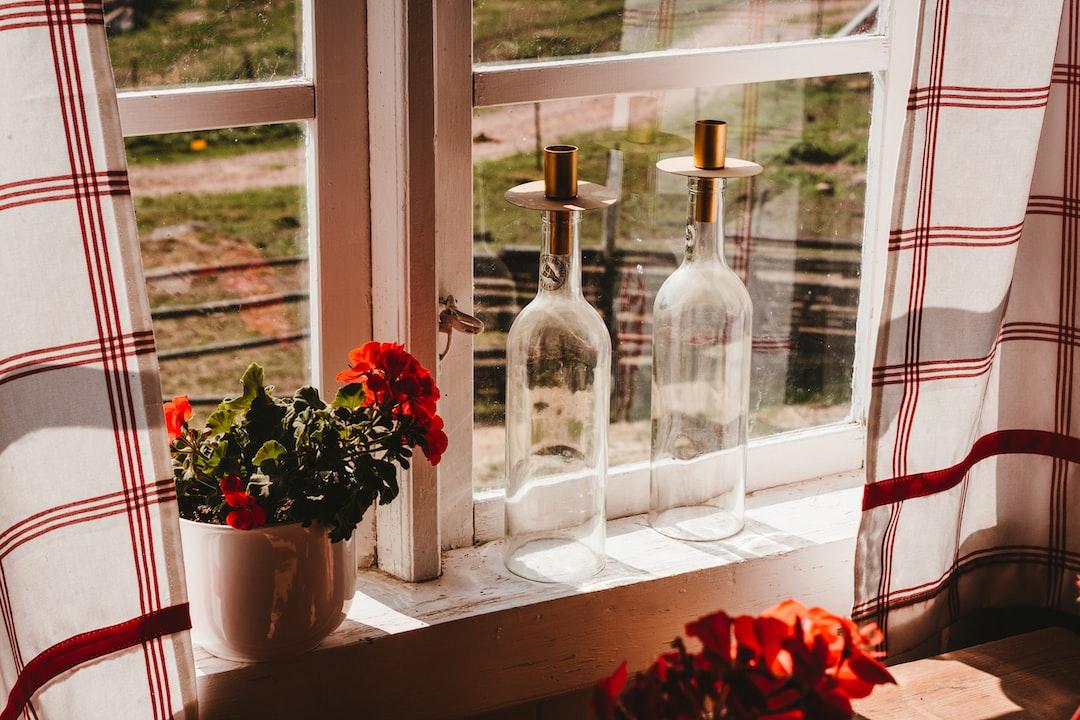 Cozy window sill in sweden
