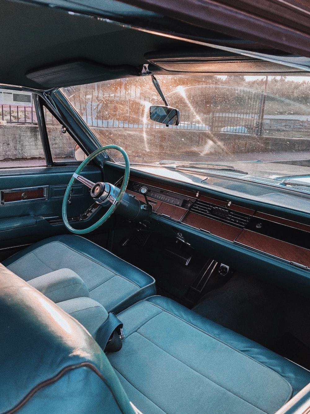 empty vehicle interior