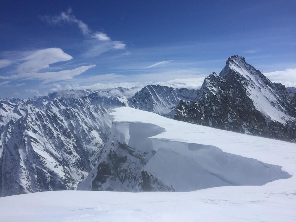 snowcap mountains during daytime