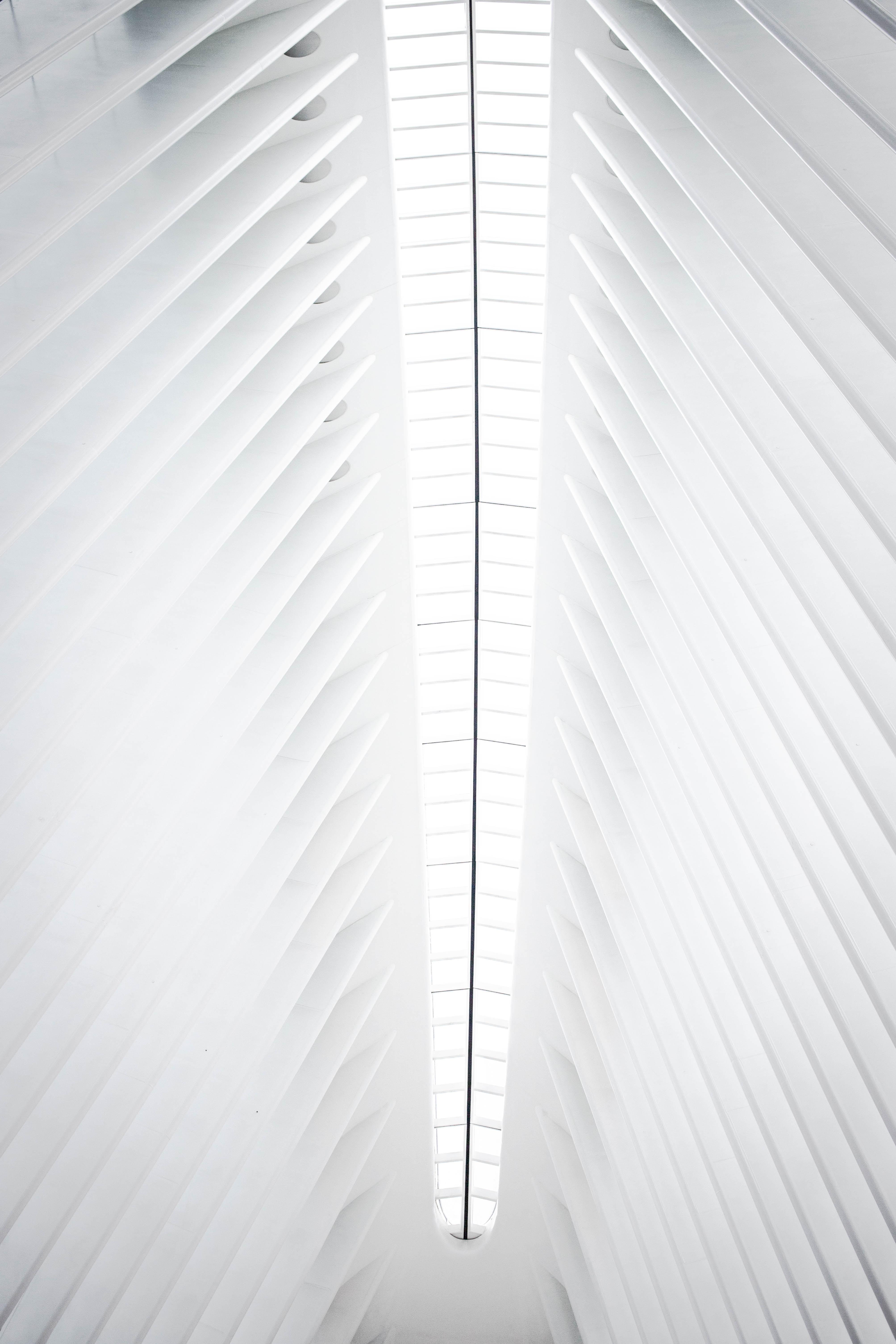 white ceiling light