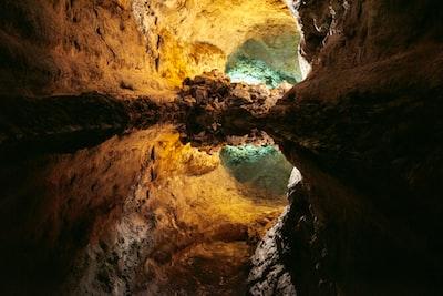 Deep in Cueva de los Verdes