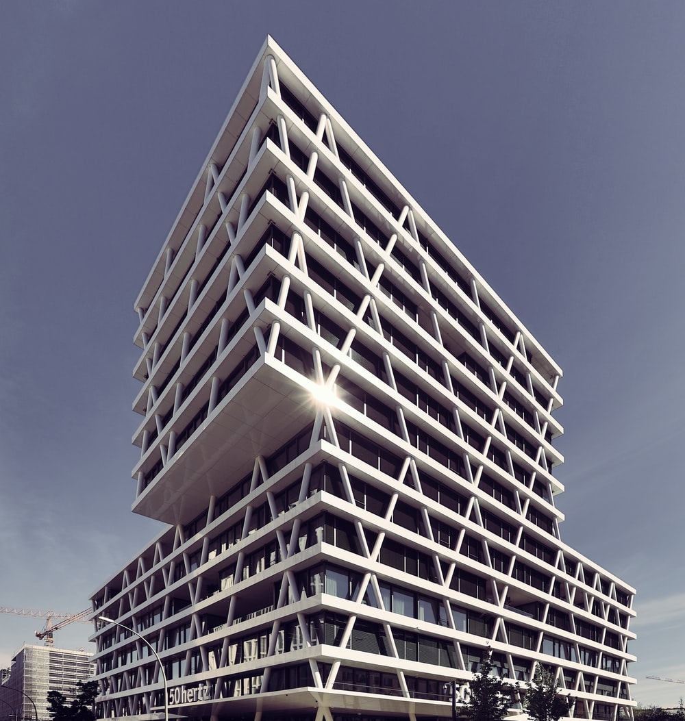 white high rise building