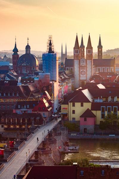Sunrise in Würzburg