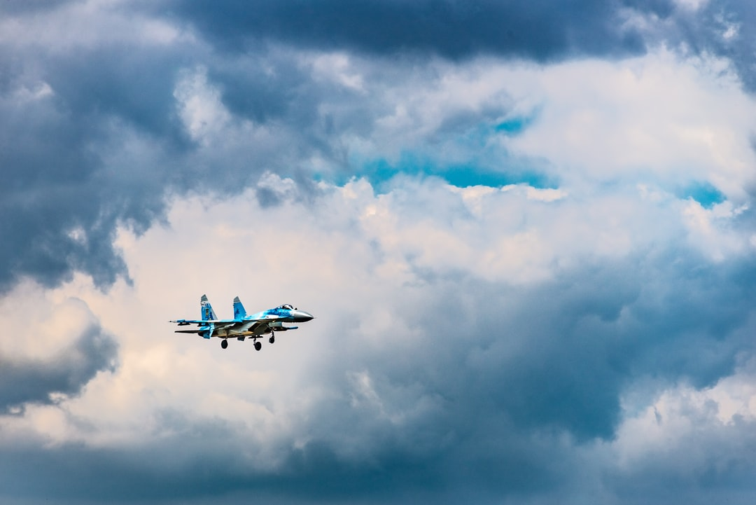 Flanker landing