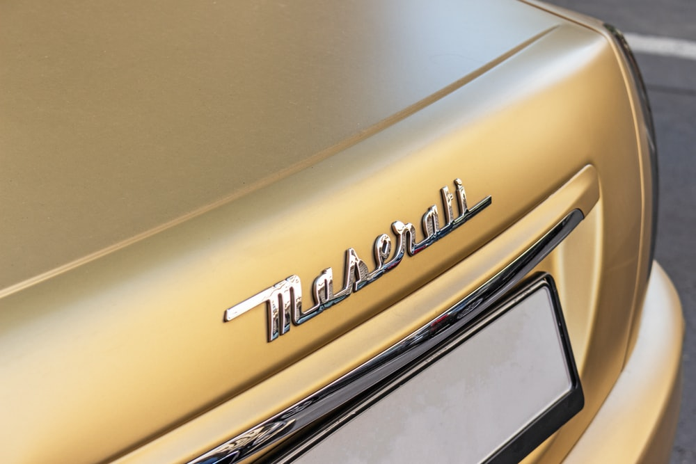 turned-offbrown Maserall digital device
