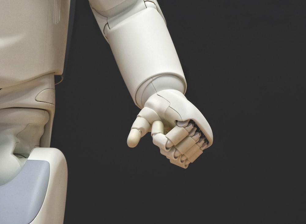 white robot
