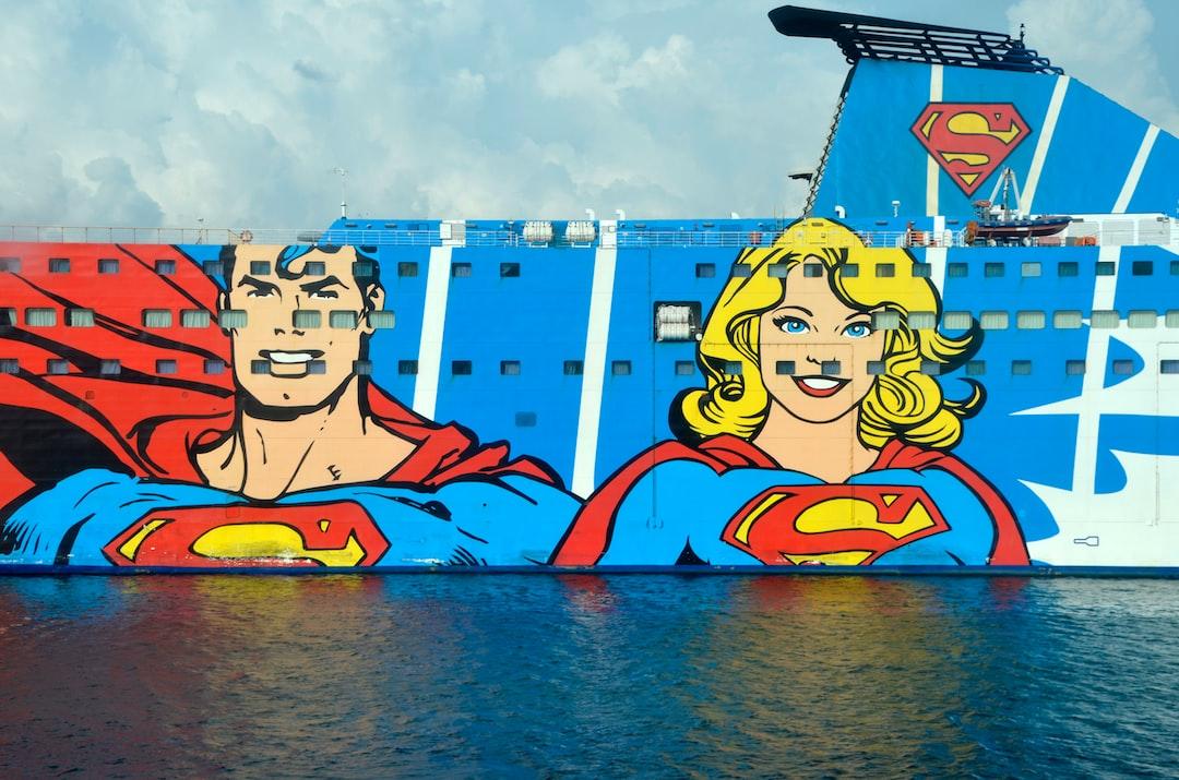 Ship with superman print