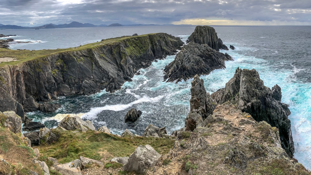 Ireland's Malin Head Cliffs