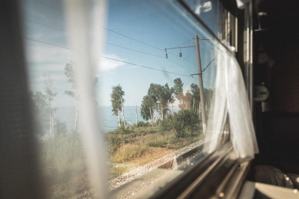 photography of opened window