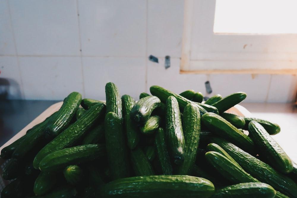 green zucchini lot