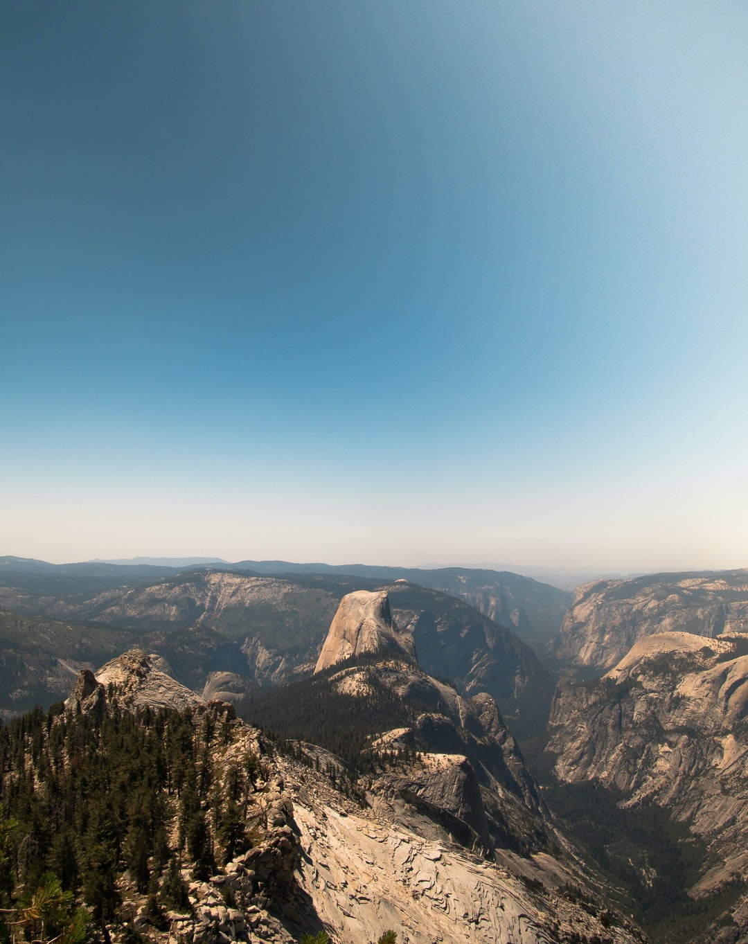 https://www.instagram.com/francistogram/ View of Half Dome from the top of Clouds Rest
