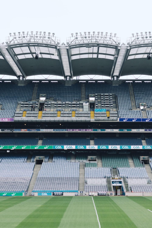 grey stadium