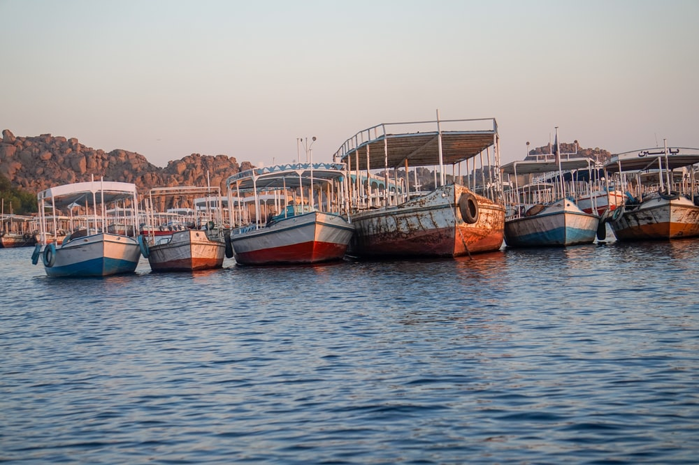 boats on body of water at daytime
