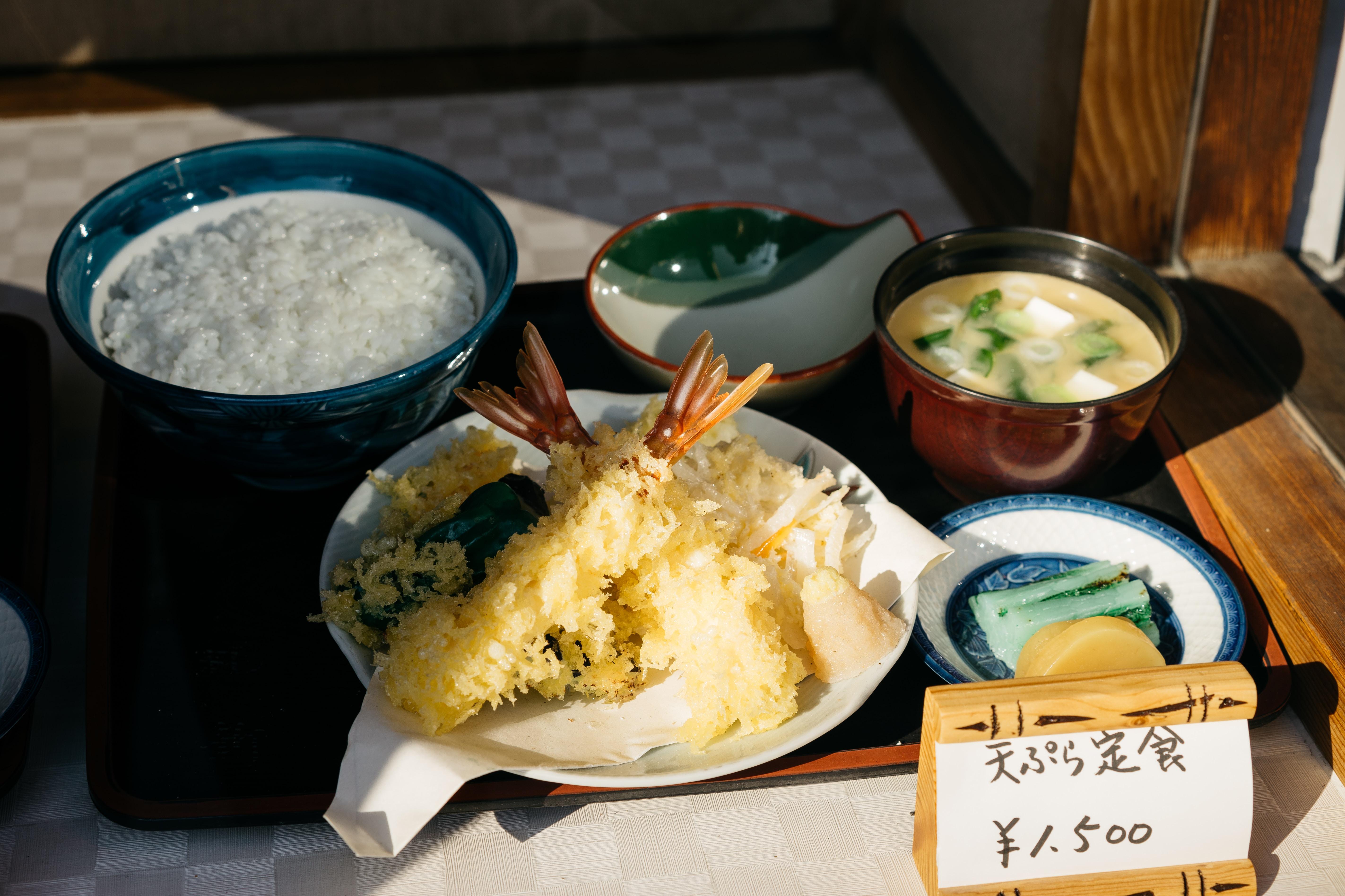 tempura set