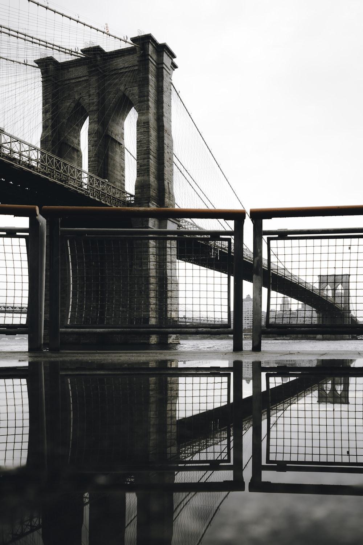 tower bridge under gray sky
