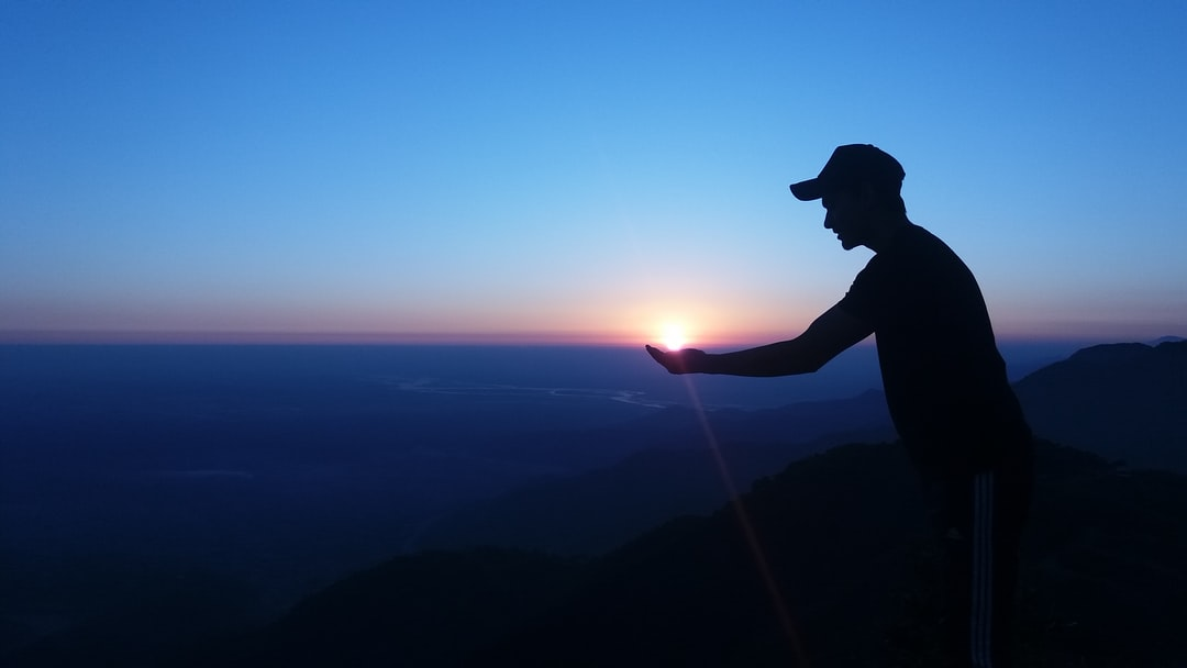 we were on our way to Vedetar view pont in Nepal, it was 6:30 we were there to view the sunset and pose came instantly…
