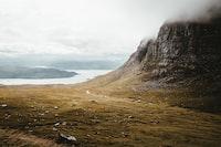 landscape photograph of mountain
