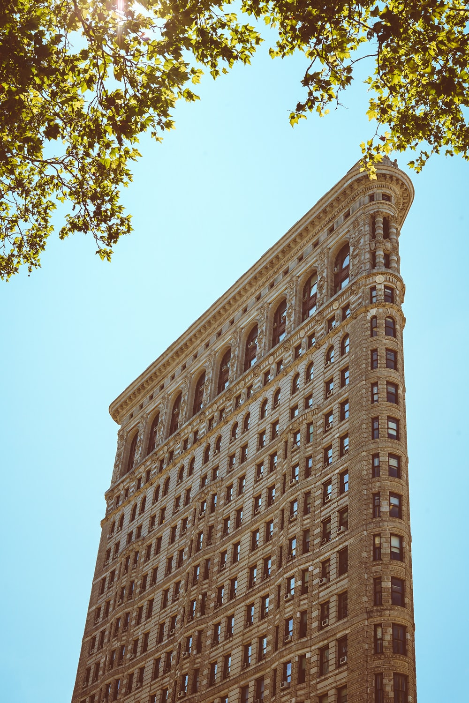 Flatiron Building, New York during daytime
