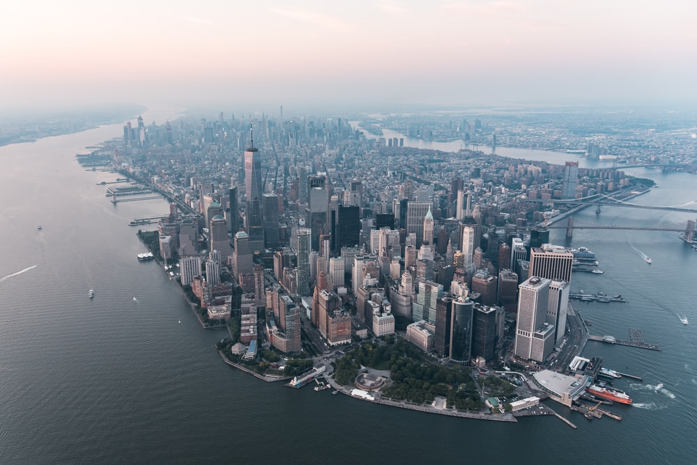 aerial view photography of cityscape