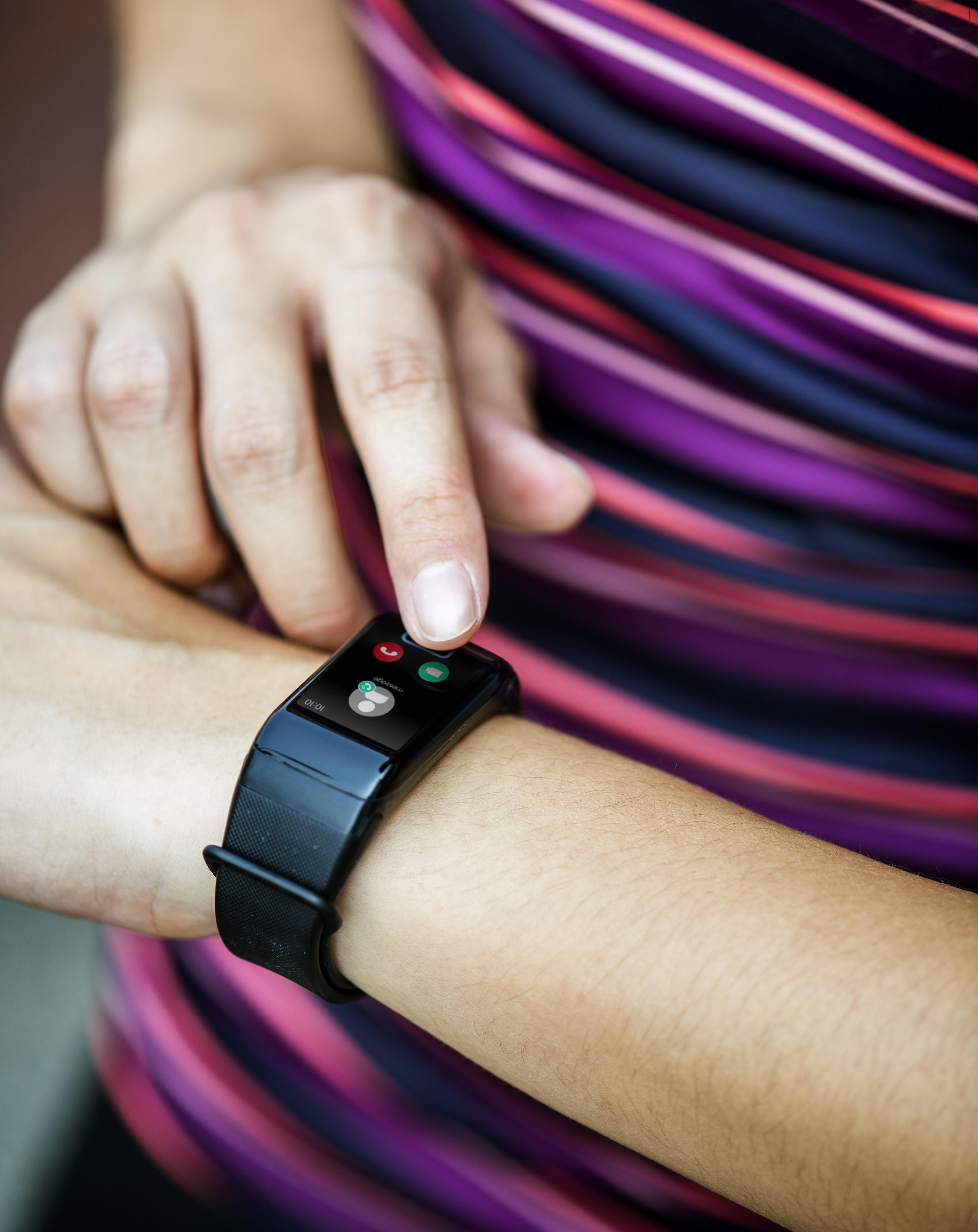 person wears watch