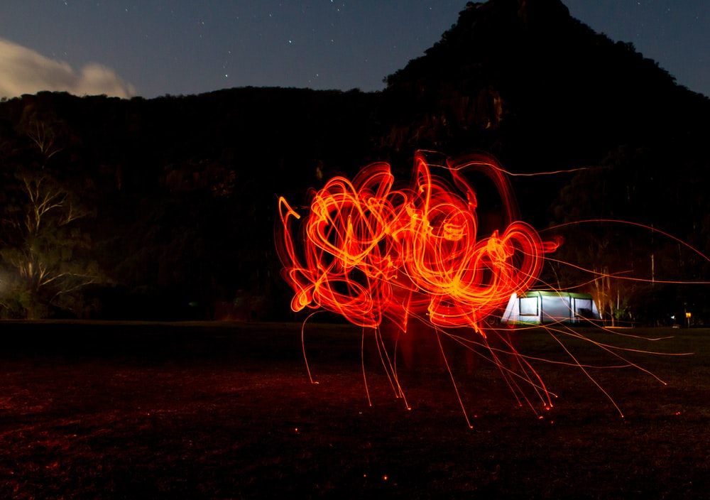 red light painting