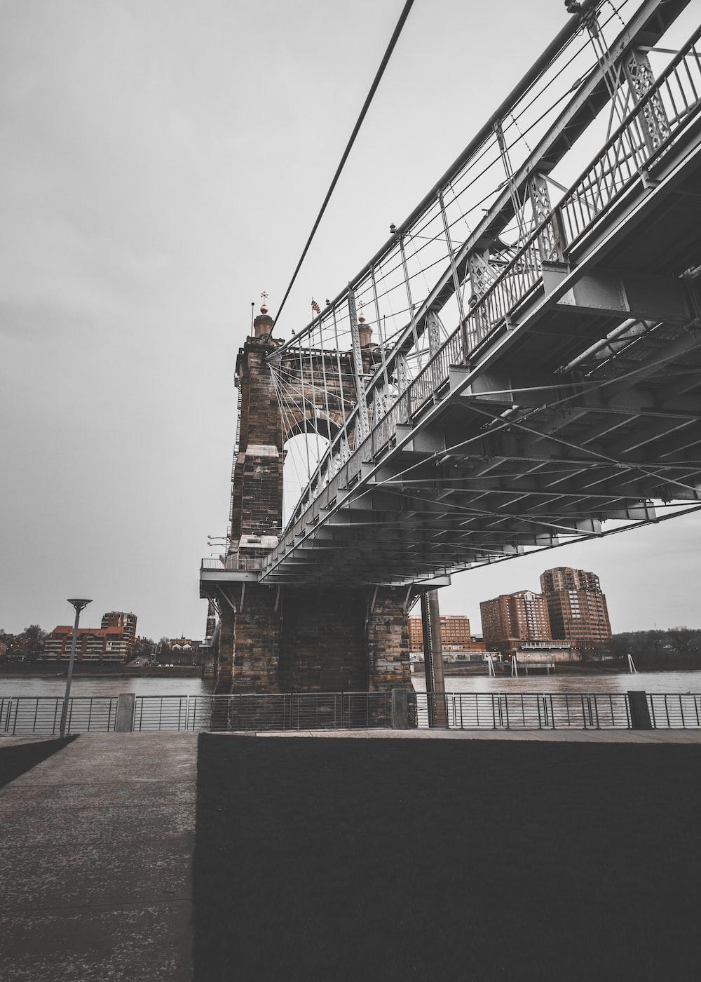 gray and brown bridge